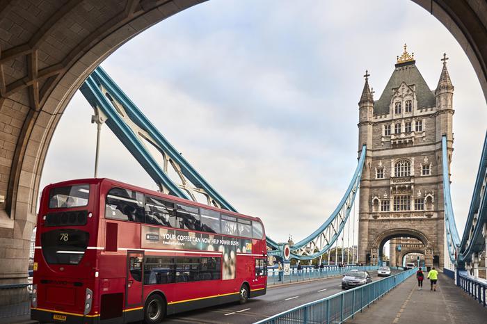 A Londra arrivano gli autobus alimentati a caffè