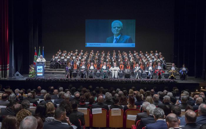 Mattarella a inaugurazione 40 anno accademico università Udine