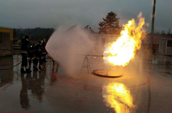 Santa Barbara: cerimonia solenne al comando dei Vigili del Fuoco