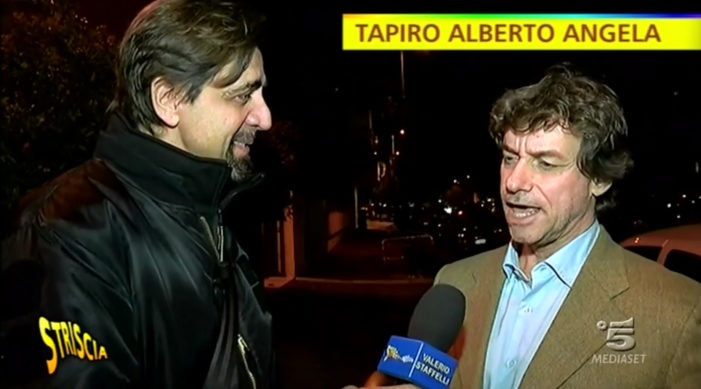 """""""Tapiro Dolomitico"""" per Alberto Angela che conferma: """"Nessuno ha pagato"""""""