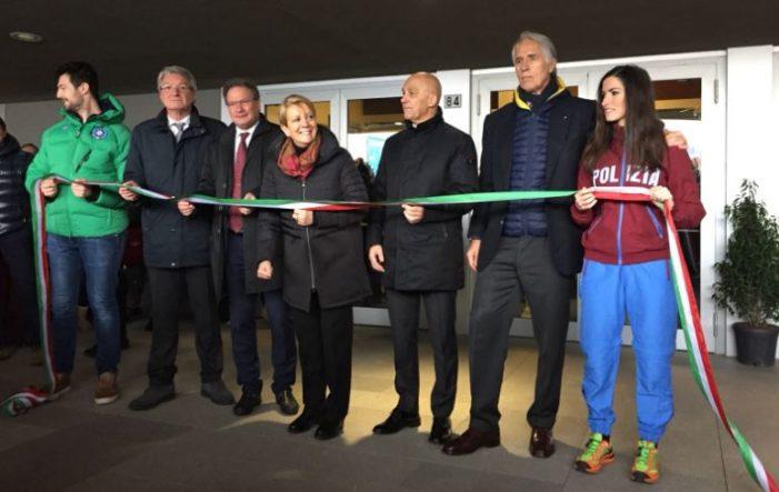 Inaugurata a Trento la 'Casa dello sport'