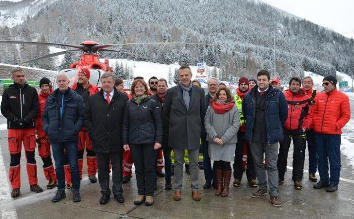 Austria – Italia, elisoccorso senza confini tra le Alpi
