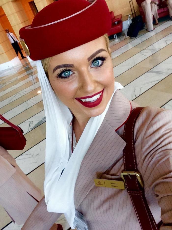 Dalle Dolomiti a Dubai, il sogno di Jessica Salvadori si avvera: una vita tra le nuvole con Emirates