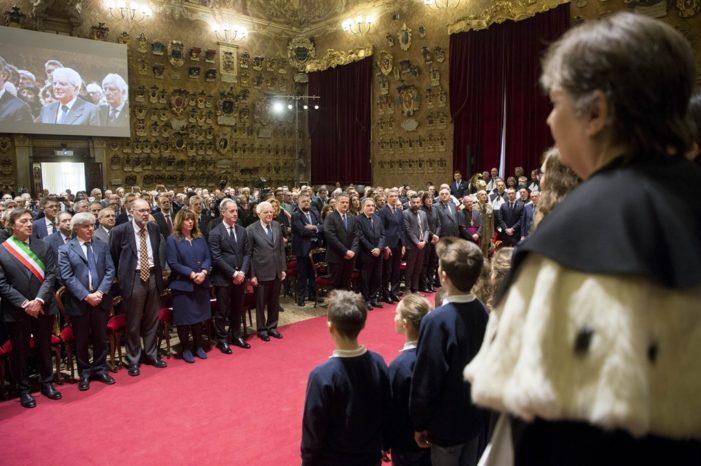 """Presidente Mattarella a Padova, all'inaugurazione del 796° Anno Accademico: """"Ruolo decisivo Università"""""""