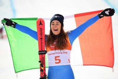 Sofia Goggia medaglia d'oro nella discesa libera alle Olimpiadi di PyeongChang