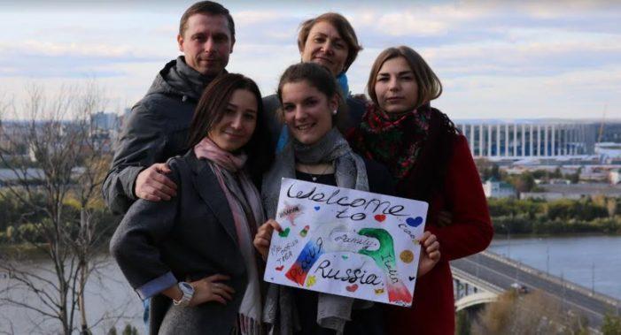 In Russia con 'Intercultura': l'avventura della primierotta Ilaria Mezzacasa