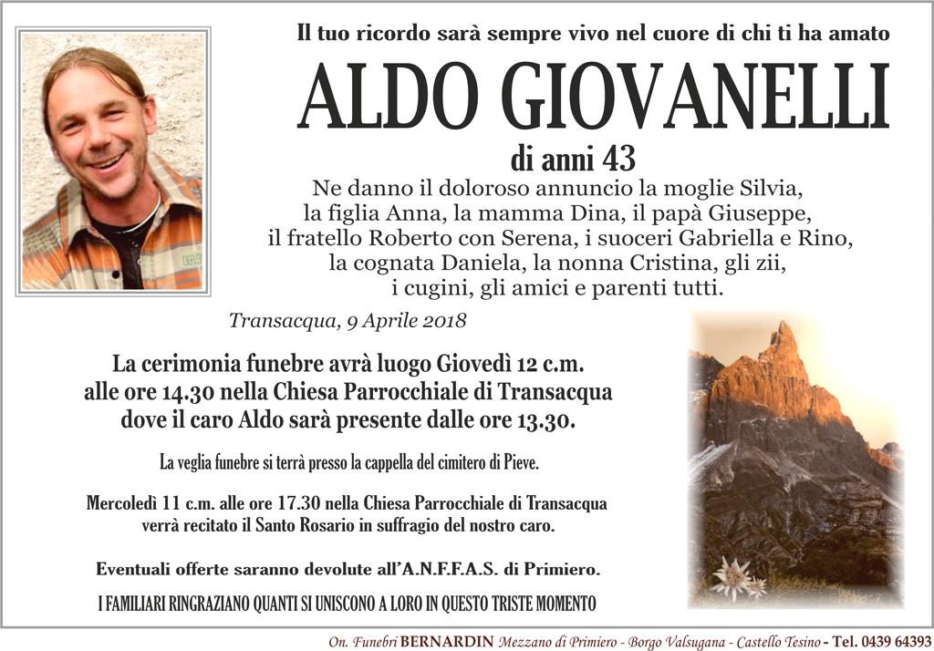 Giovanelli Aldo Scialpinista muore sulla cima Colbricon