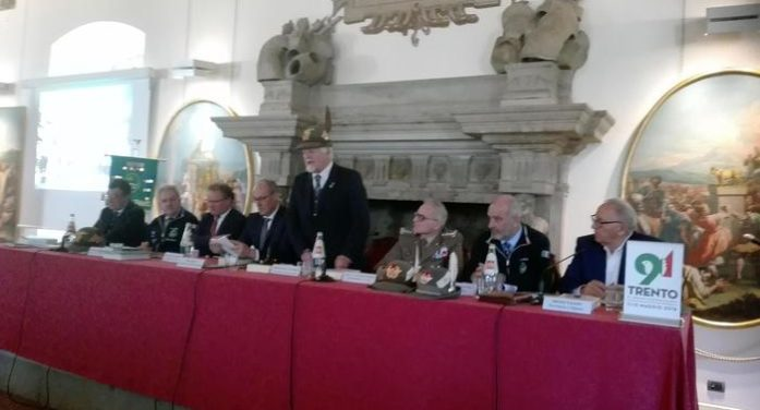 Trento, Adunata Alpini 2018: presentazione ufficiale al Castello del Buonconsiglio
