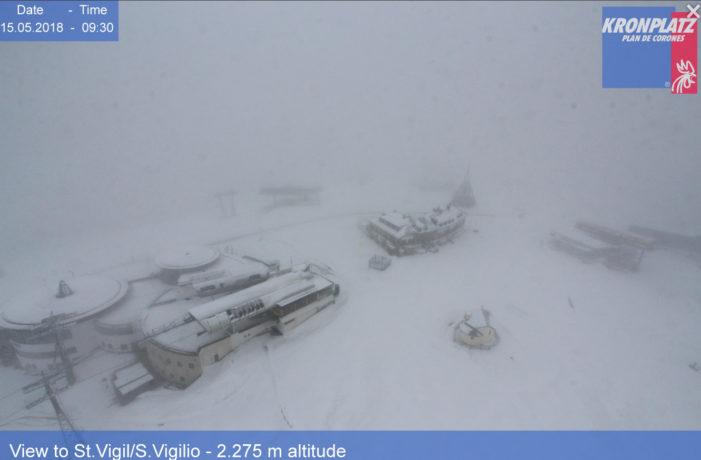 Meteo, torna la neve sulle Dolomiti: settimana instabile con il vortice atlantico di origine islandese