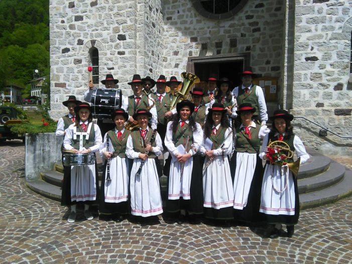 Corpo Musicale Folkloristico di Primiero, iscrizioni ai corsi di formazione bandistica entro il 18 giugno