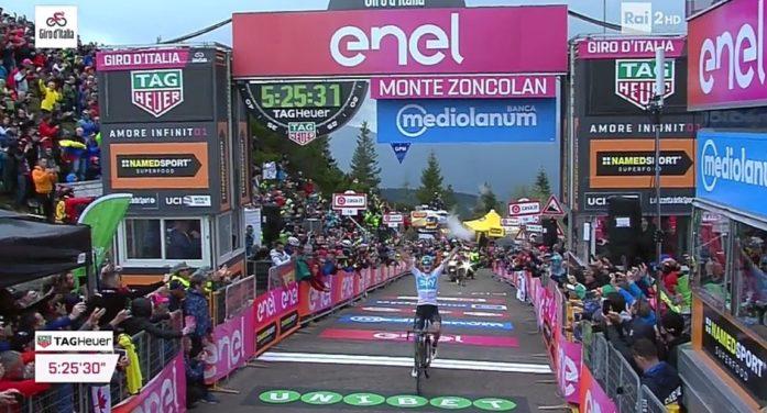 Giro d'Italia 2018 a NordEst, spettacolo sullo Zoncolan con 100mila persone: c'è attesa per le Dolomiti e la Crono di Trento