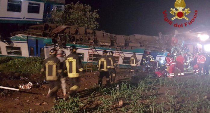 Torino, scontro tra treno e tir: 2 morti e diversi feriti