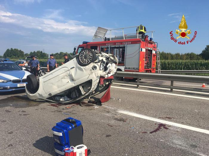 Incidente in A4, morta la donna tamponata da Marco Paolini - Cronaca
