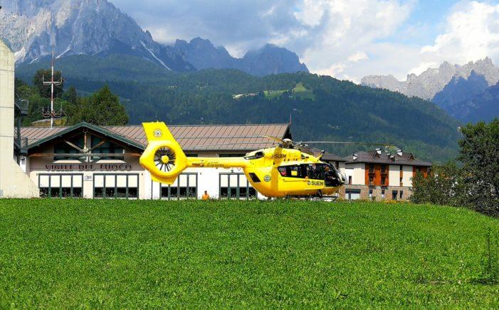 Dolomiti, domenica di grande lavoro per Elisoccorso Trentino e Belluno