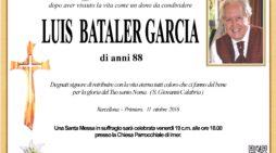 Barcellona – Primiero, Addio a Luis Bataler Garcia, messa di suffragio venerdì 19 ottobre alle 18 a Imèr