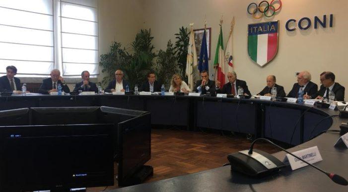 """Olimpiadi 2026, Governatore Zaia: """"Spero Governo sia al nostro fianco. Trentino avrà gare"""". Malagò: """"Idea chiusura Giochi in Arena"""""""
