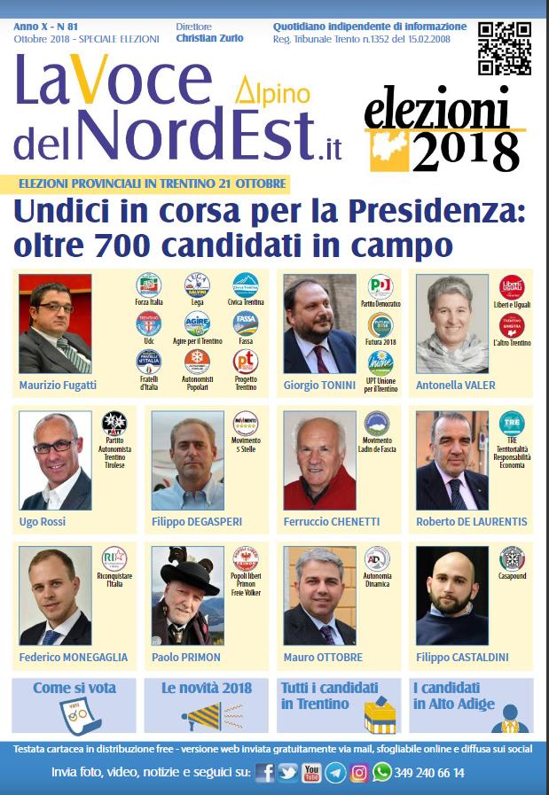 IL TACCUINO ELETTORALE/Elezioni Provinciali in Trentino Alto Adige, ecco come si vota domenica 21 ottobre