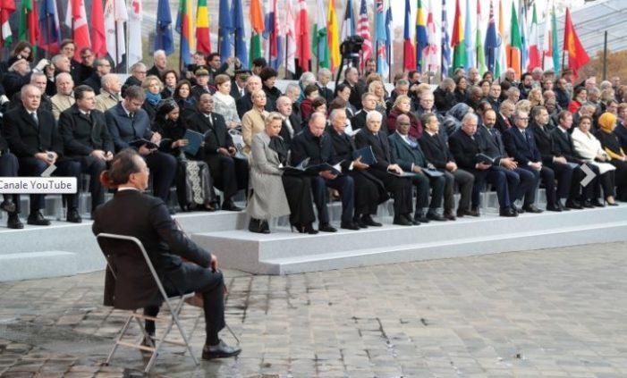 Parigi, 72 Capi di stato e di Governo ricordano il centenario dell'Armistizio