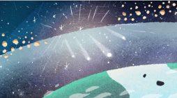 Stelle cadenti di dicembre, il picco nelle prossime ore: Google dedica il 'doodle' alle Geminidi