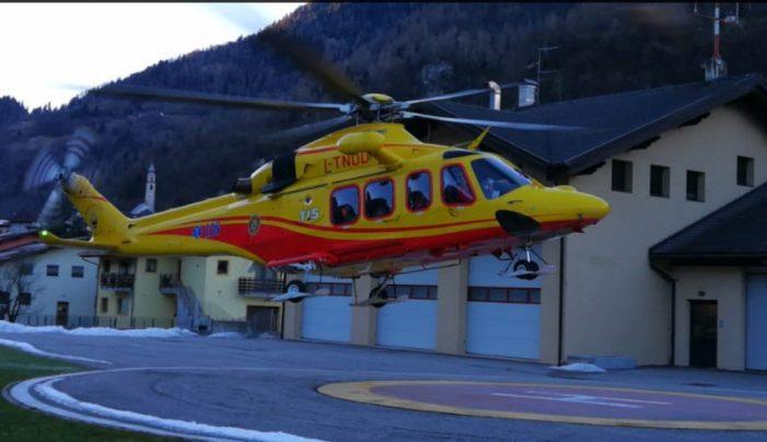Doppio intervento dell'elisoccorso a Primiero e San Martino di Castrozza