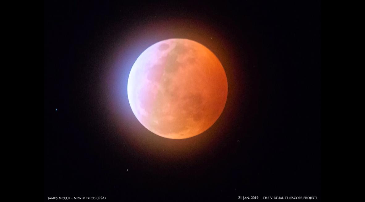 Eclissi totale, occhi al cielo per ammirare la Super Luna rossa