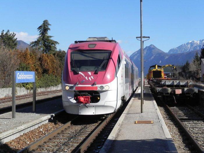 Linea ferroviaria della Valsugana interrotta per cedimento
