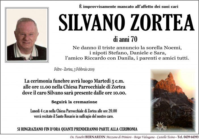 Addio Silvano Zortea, funerali martedì 5 febbraio alle 11 nella chiesa di Zortea