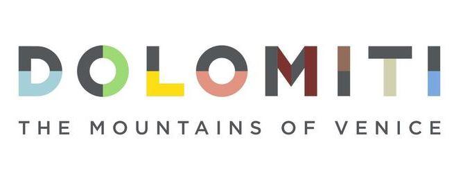"""Dolomiti bellunesi, presentato il nuovo logo: """"'The mountains of Venice', in vista delle Olimpiadi"""