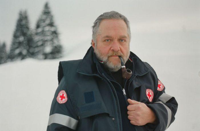 Valle del Vanoi, l'ultimo turno di Mario Taufer con la Croce Rossa nel Cuore