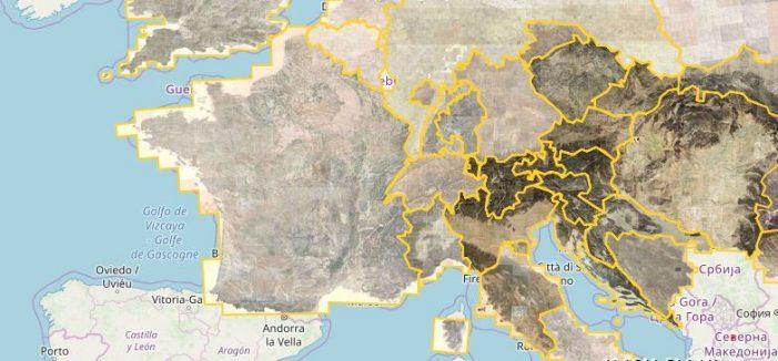 Italia ed Europa nell'800? Ecco Google Maps 'vintage': 'Progetto Mapire' con carte dell'Impero Asburgico