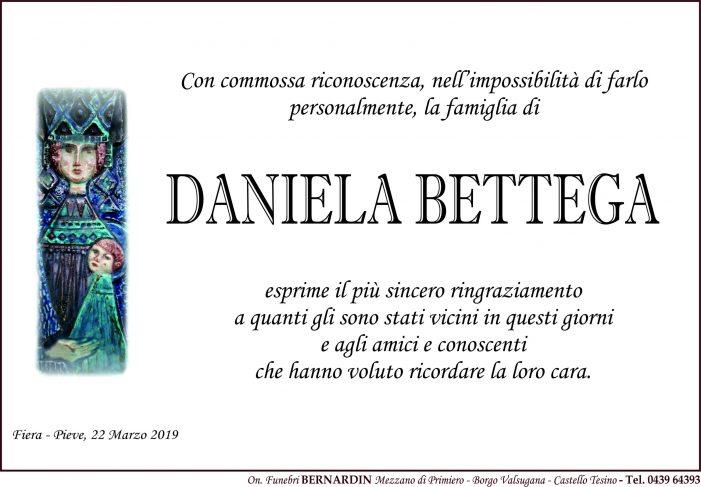 La famiglia di Daniela Bettega ringrazia per la vicinanza