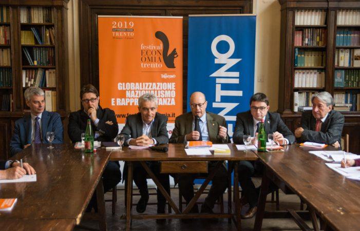 Trento, Cambiano i vertici provinciali ma resiste il Festival dell'Economia dal 30 maggio al 2 giugno