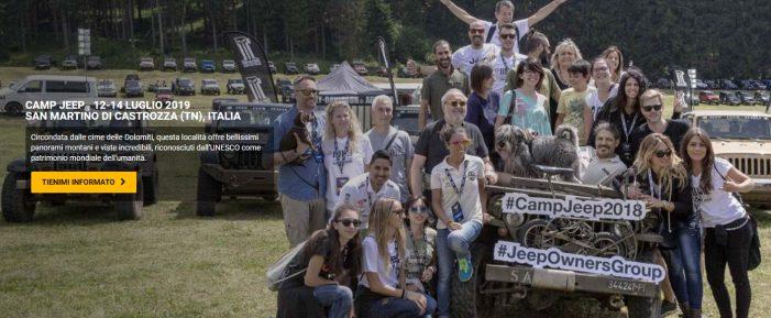 """Dolomiti, dopo il no di Belluno è polemica ai piedi delle Pale per """"Jeep Camp 2019"""" promosso da VisitTrentino: minoranze provinciali all'attacco"""