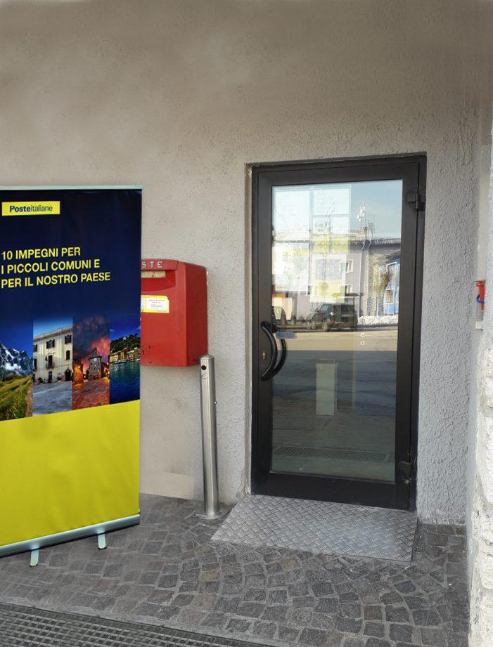 Tesero e Luserna: abbattute le barriere architettoniche negli uffici di Poste Italiane