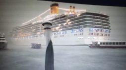 Venezia, altro incidente in bacino San Marco: nave da crociera sbanda, sfiorate banchine e yacht durante la tempesta