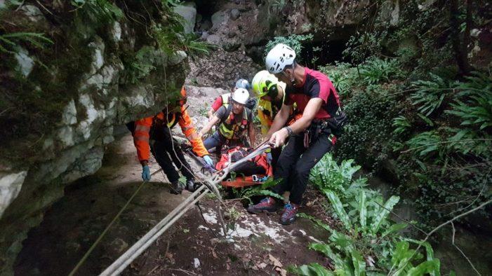 Gruppo Ortles Cevedale, Soccorso alpino salva un escursionista sul Monte Vioz