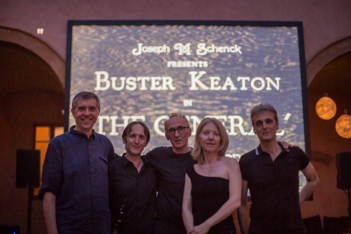 """A Mezzano Romantica """"Go West di Buster Keaton musicato dall'ensemble 'Musica nel buio', martedì 6 agosto alle 21"""