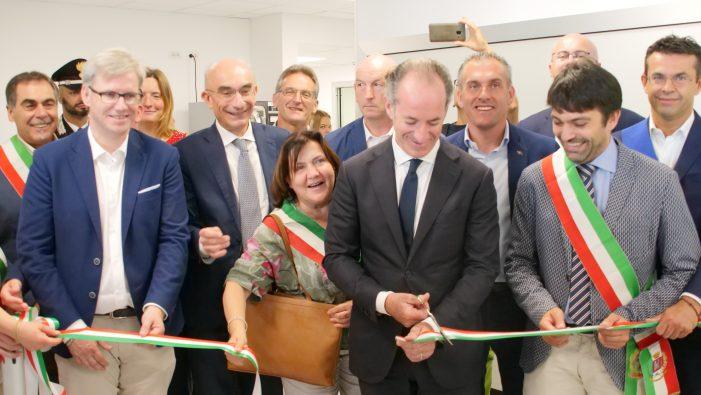"""Feltre, Inaugurato il nuovo Pronto soccorso con la Risonanza. Sostegno alla sanità della Calabria. Zaia: """"Ottima collaborazione con il Trentino"""""""